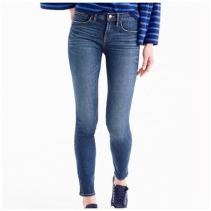 J. Crew Skinny Toothpick Ankle Jeans